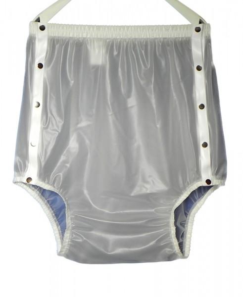tc14330, PVC-Hose, Knöpfer mit breitem Taillenbund, ca. 10 cm höher als tc14320