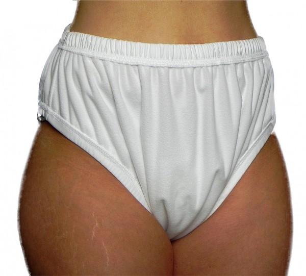 tc13230, Premium PU-Inkontinenz-Slip aus POLYPES, Schlupfform, hoher Beinausschnitt, genäht.