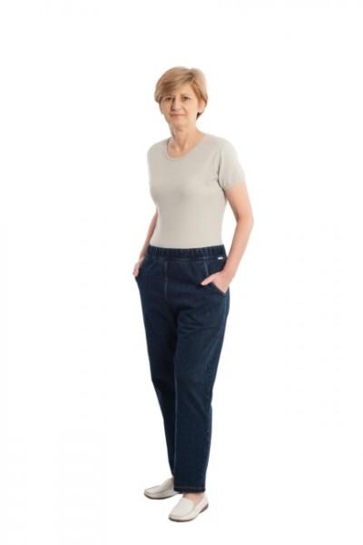 4510, CareActive Pflegeoverall Jeans