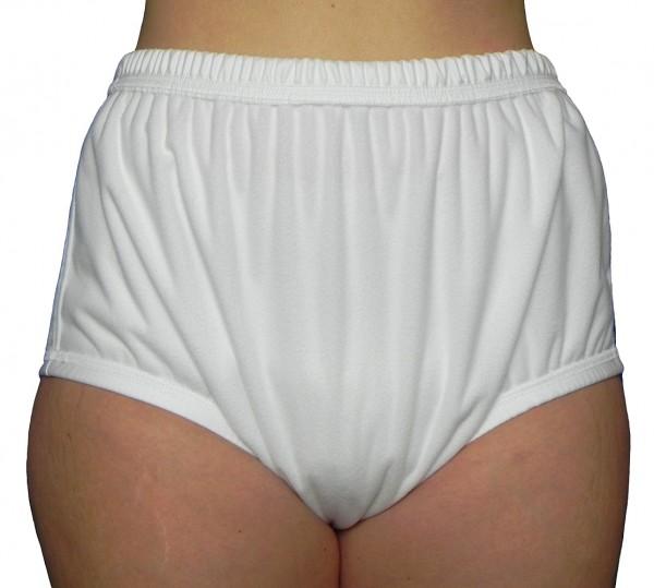tc13220, Premium PU-Inkontinenz-Slip aus POLYPES, Schlupfform, genäht.